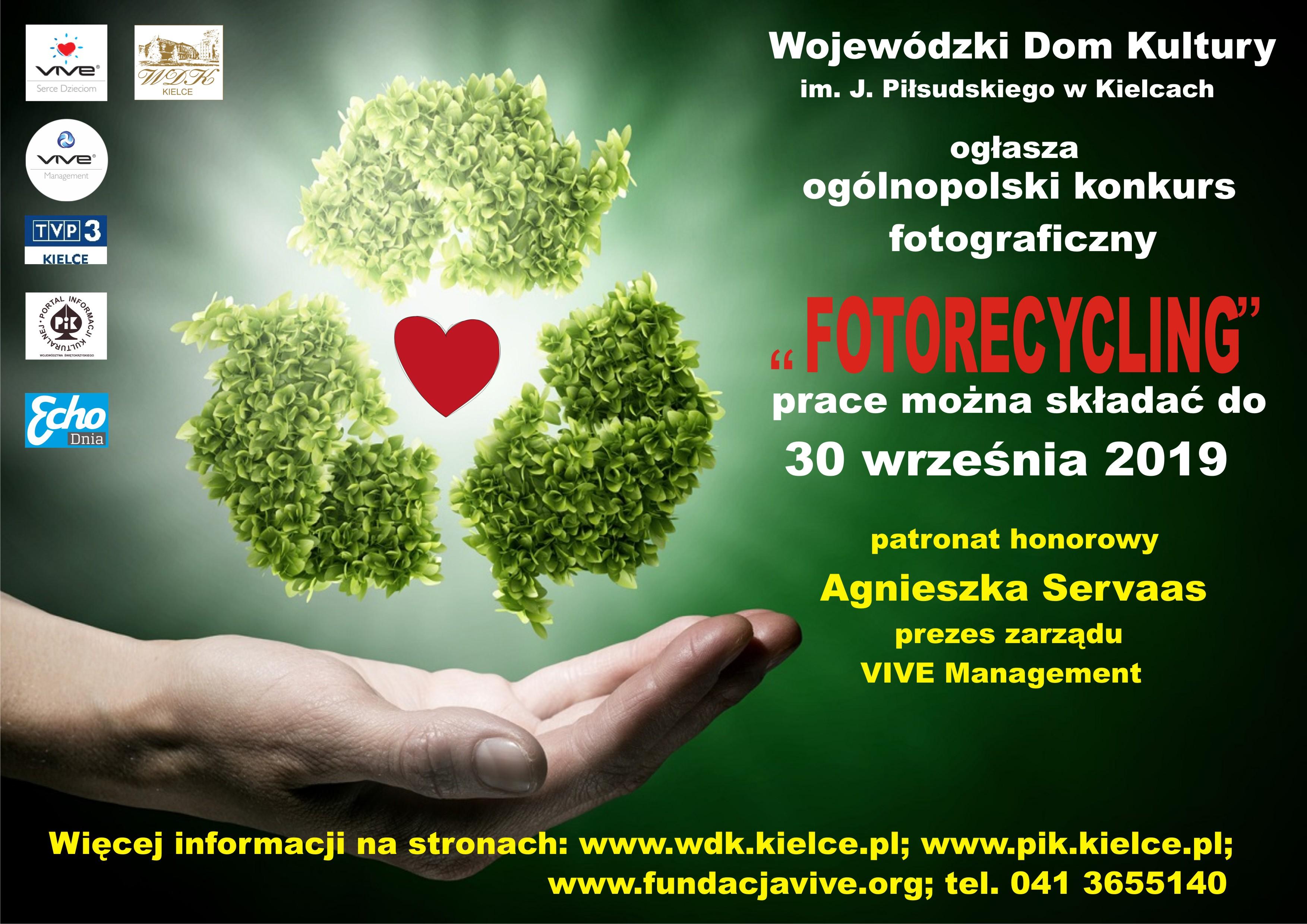 """Ilustracja do informacji: Ogólnopolski konkurs """"Fotorecycling"""":"""