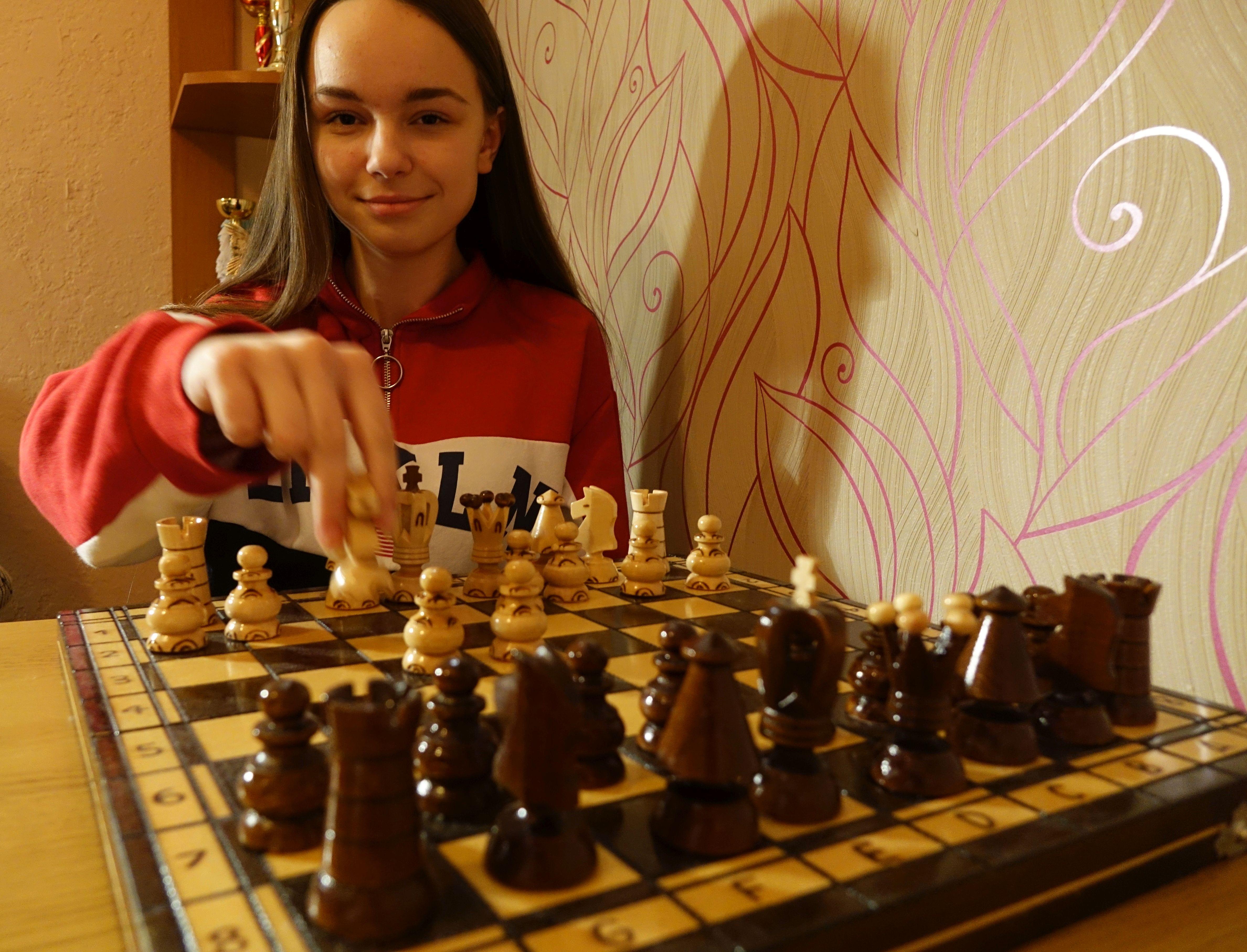 Ilustracja do informacji: Ania Grzyb – nastoletnia mistrzyni szachów: