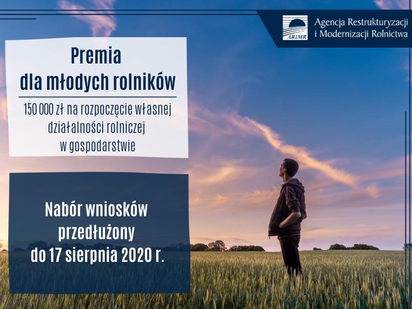 Ilustracja do informacji: 150 tys. zł premii dla młodego rolnika – nabór wniosków przedłużony: