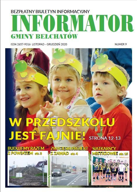 Ilustracja do informacji: INFORMATOR GMINY BEŁCHATÓW - NR 9: