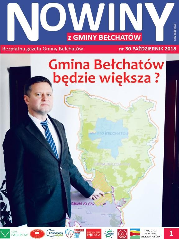 Ilustracja do informacji: Nowiny z Gminy Bełchatów
